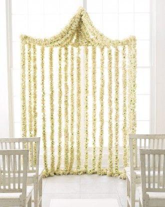 Ceremony Marker - Elegant and Inexpensive Flowers