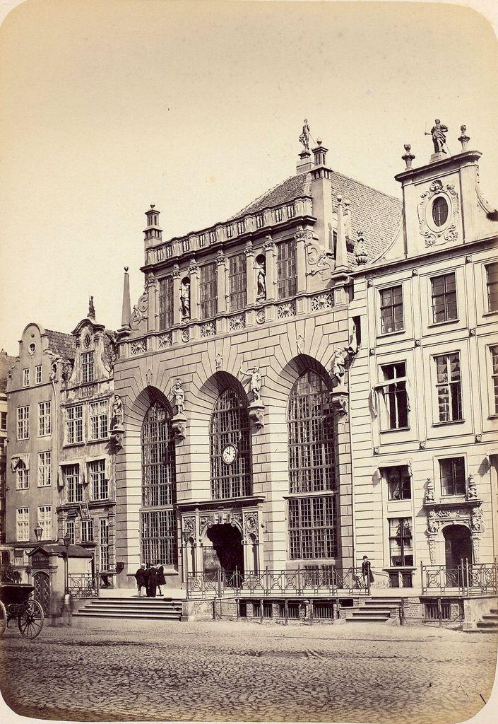 Danzig/Gdańsk - Artus Court, 1865
