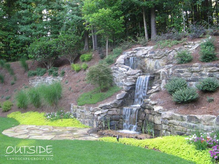 Pondless Водные объекты и Открытый Водопады Alpharetta, Ga |. Вне ландшафтного Group, LLC