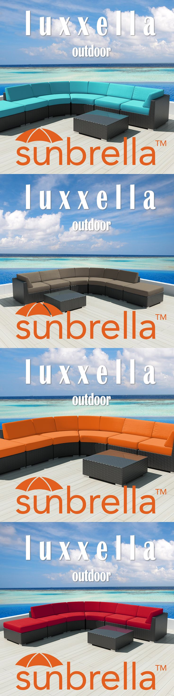 Luxxella Sunbrella Outdoor Furniture set