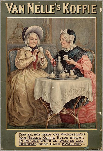 Van Nelles Koffie ♥Ziehier hoe reeds ons voorgeslacht Van Nelles Koffie hulde