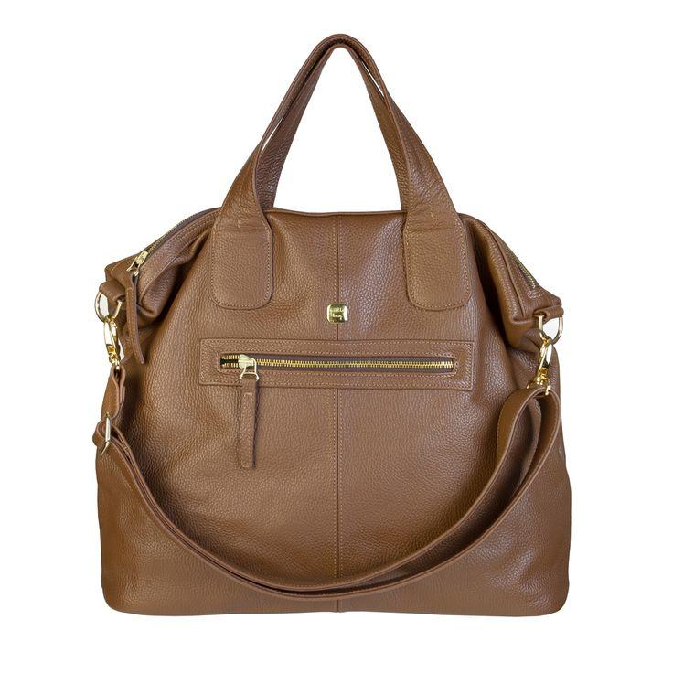 Pojemna,duża torebka wykonana z wysokiej jakości skóry naturalnejw kolorze…