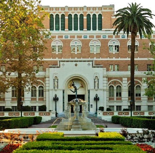 USC Doheny Library... my favorite place to study!!