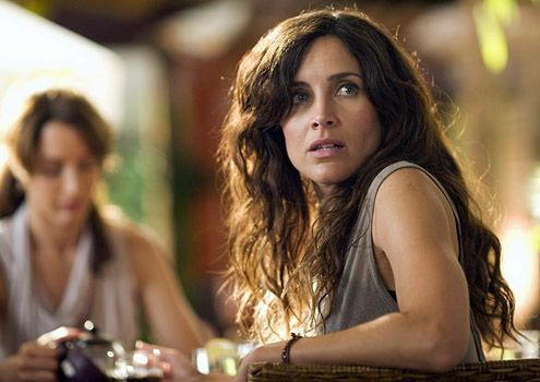 "The L Word - Season 6, ""Long Night's Journey Into Day"" - Rachel Shelley as Helena"