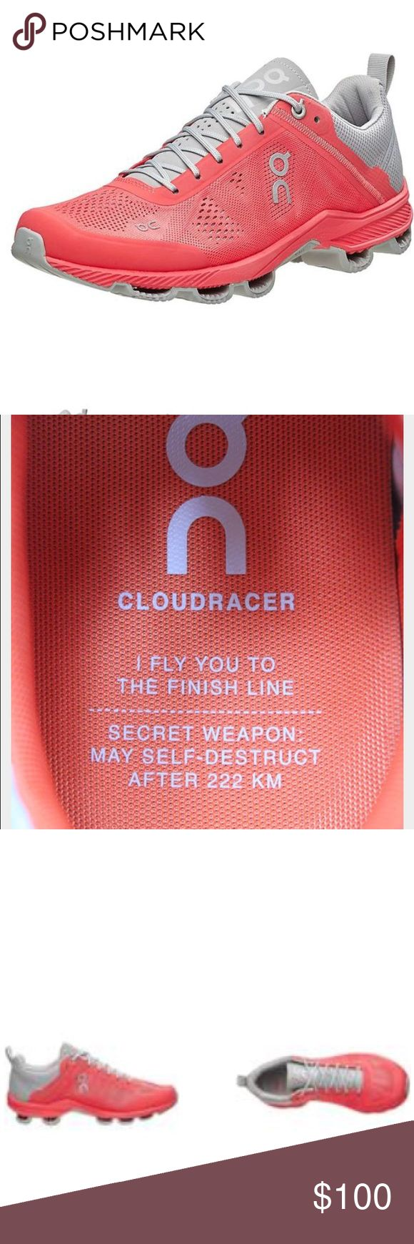 Cloud surfer running shoes. These shoes are so light weight! I wore them on one 7 mile run and are great.  My husband bought me the same running shoes! on cloud Shoes Athletic Shoes