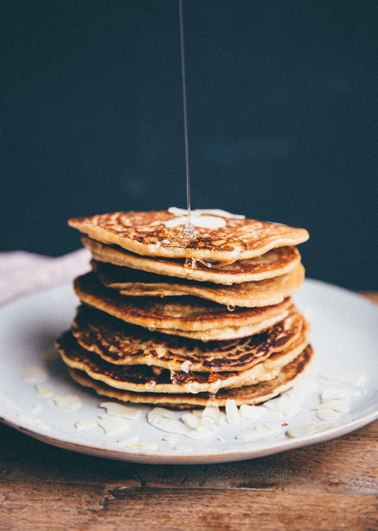 Pear and Sage Pancakes — Nourish Atelier