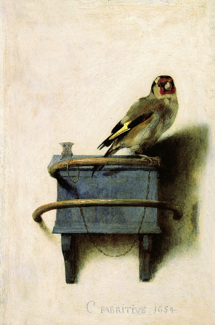 """There's only a tiny heartbeat and solitude, bright sunny wall and a sense of no escape. Time that doesn't move, time that couldn't be called time. ~ Tartt, Donna. ""The Goldfinch."""
