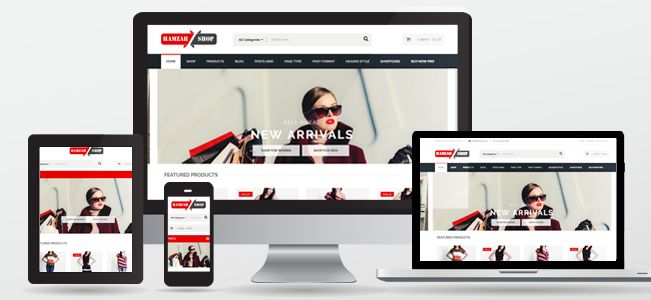 Hamzahshop is fully Responsive theme that looks and works great on mobile devices, tablets and computers. It supports the powerful #WooCommerce plugin, that allows you to sell anything to anyone using your #WordPress site. Callisto comes with lots of extra features, including two industry leading plugins – Visual Composer and Revolution Slider. Combined, you're getting more than $90 of extra value!