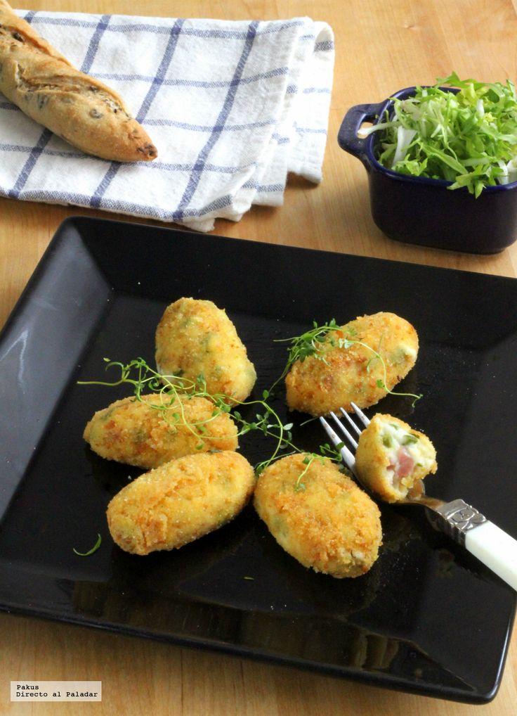 Te enseñamos a preparar de manera sencilla, la receta de croquetas de espárragos trigueros y jamón. Tiempo de elaboración, ingredientes y trucos para hacerla...