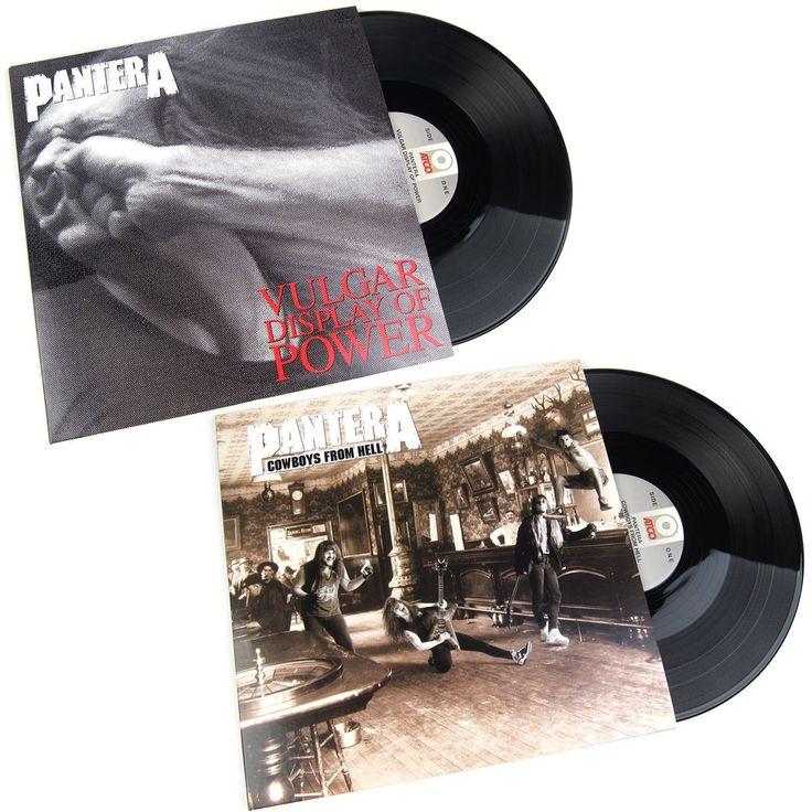 Pantera: 180g Vinyl LP Album Pack (Cowboys From Hell, Vulgar Display Of Power)