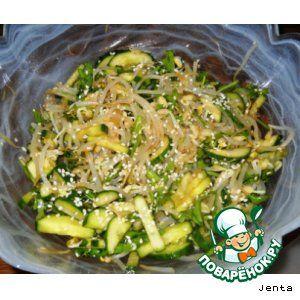 Рецепты салатов из бобовых и круповых изделий