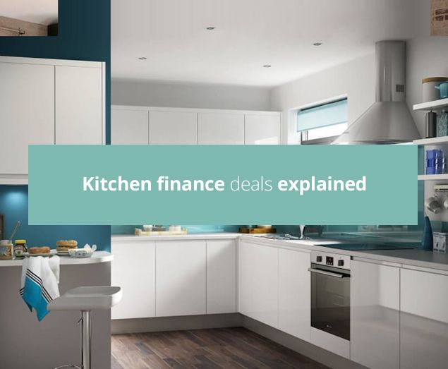 If you can't afford to pay for a new kitchen in full upfront, then you're certainly not alone! Thankfully, most kitchen retailers offer a number of flexible finance deals to help you spread out the cost. While many people don't hesitate to shop around when it comes to finding the best price for their kitchen, we recommend you also take good look at the finance plans available as these can make all the difference to your final decision.