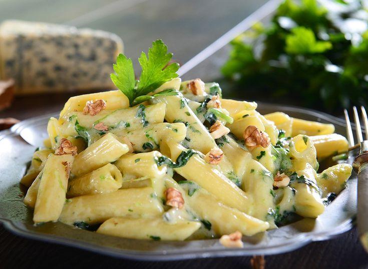 Madiventura - primi   Pasta gorgonzola e noci Ventura