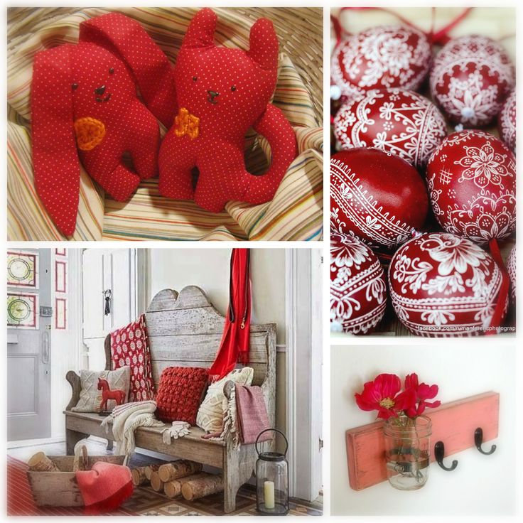 Red apaCukababa bunny into the hall..red easter bunny and easter eggs :) https://www.facebook.com/ApaCukababa