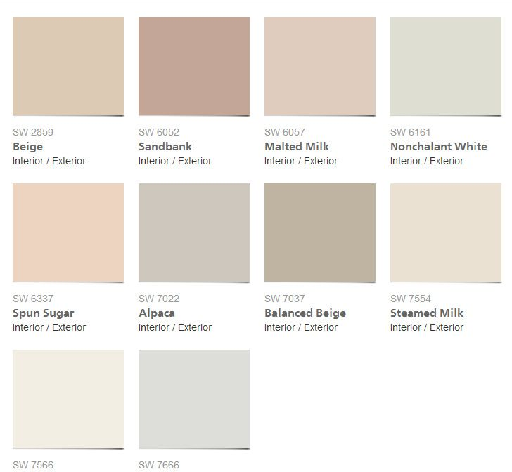 2014 Interior Paint Colors: 2014 Sherwin Williams Colors 2017
