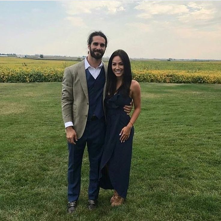 WWE Superstar Seth Rollins (Colby Lopez) and his girlfriend Sarah Alesandrelli #WWE #wwecouples #wwewags