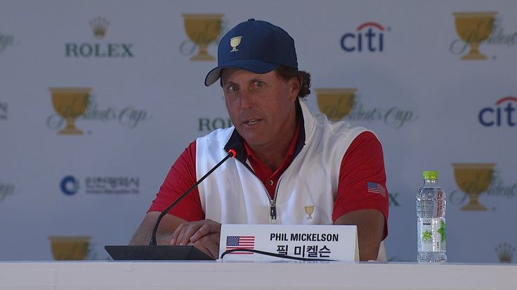 phil mickelson 2017 presidents cup | Presidents Cup 2015: Phil Mickelson just saying quote ...