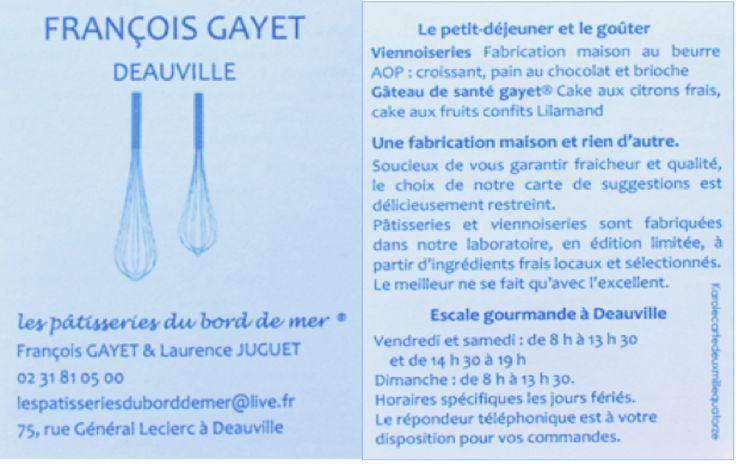 Pâtisserie Deauville