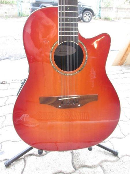 chitarra ovation Celebrity CC4512 corde ex demo