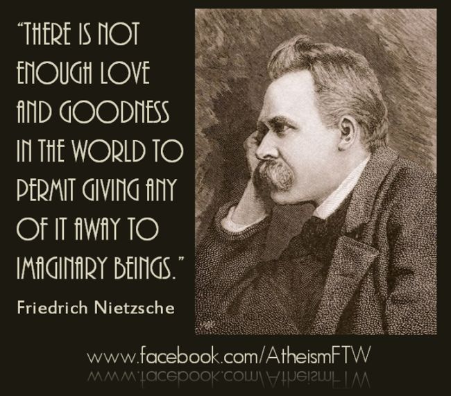Quotes Friendship Nietzsche : Nietzsche quotes atheism quotesgram