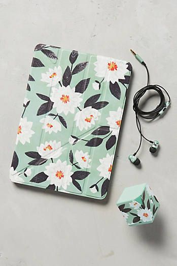 Minted Daisy iPad Case