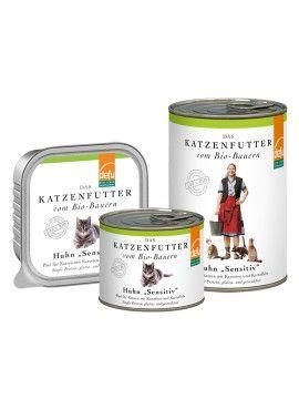 """DEFU Huhn """"Sensitiv"""" Pâté für Katzen (Bio-Katzenfutter) by www.katzenmarkt.ch"""