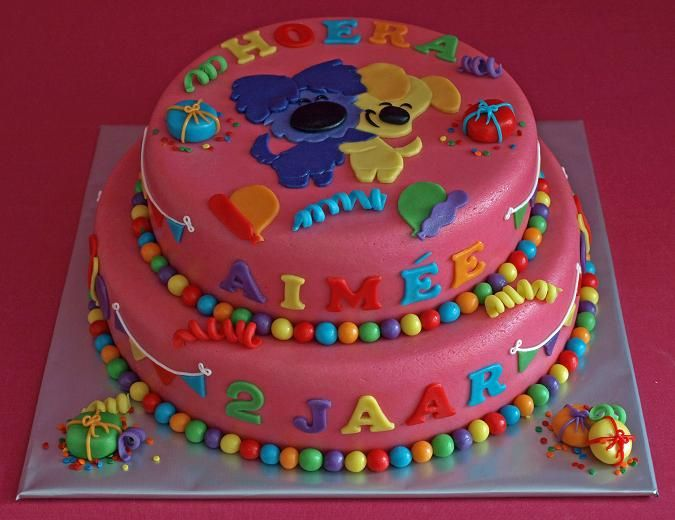 Woezel & Pip cake