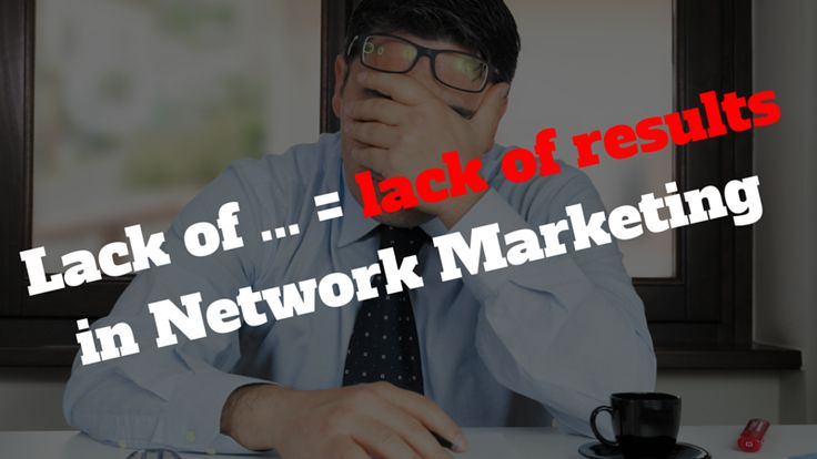 There are a lot of reasons to lack of results in #NetworkMarketing. But this one is one of the biggest: http://brandonline.michaelkidzinski.ws/lack-of-results-in-network-marketing/