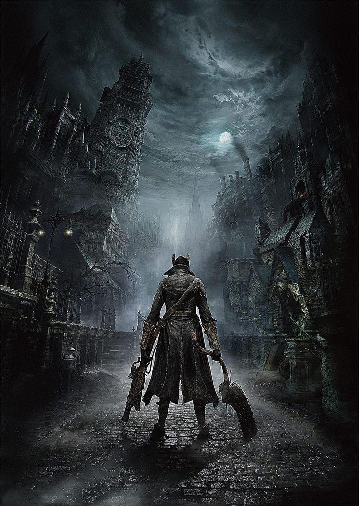 Concept art for Bloodborne