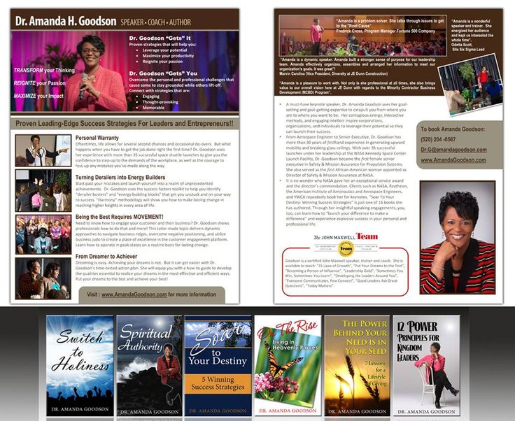 Professional Speaker one sheet samples and graphic design services - sample advertising timeline