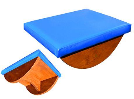 Playmed - Tabla balancín tapizada