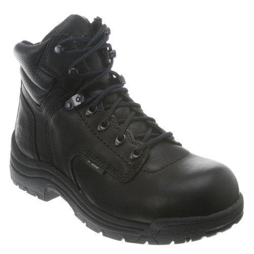 072399001 Timberland PRO Women's TiTAN Safety Boots - Black - 7.0\M *** For more information, visit image link.