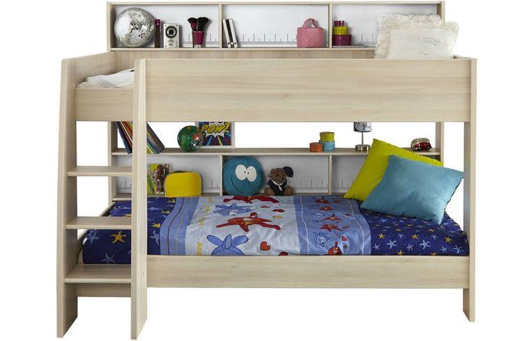 Charlie Storage Bunk Bed | Acacia & White | Ireland