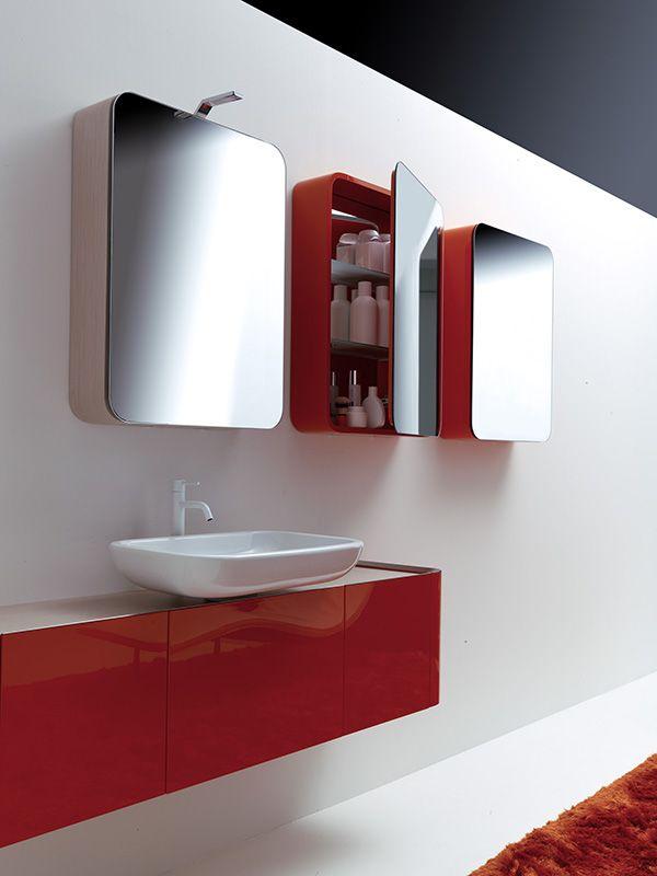 K08 by Karol Designer: Giancarlo Vegni Seguire le regole dell'esigenza ma anche i dettami di gusto, secondo principi di corrispondenza e simmetria #design #arredo #bagno #interior #bathroom #karol