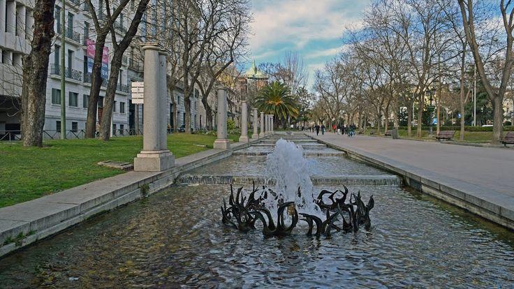 Madrid - Paseo de Recoletos and Puerta de Alcalá