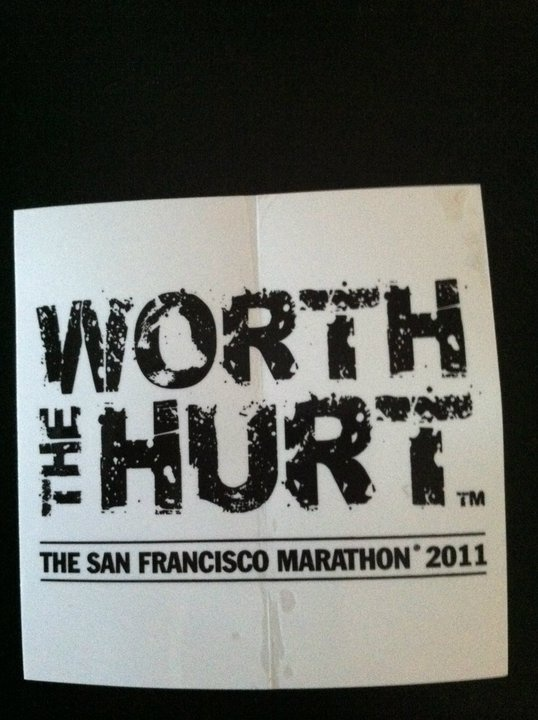 San Francisco Marathon 7-2011