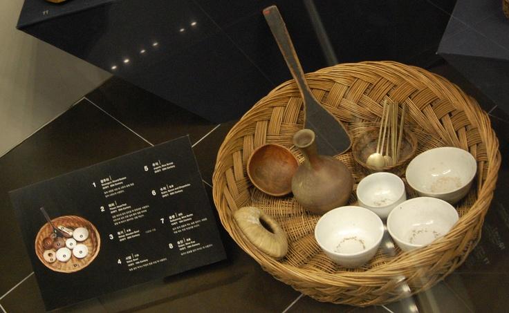 Traditional lunch basket for farmers (National Folk Museum of Korea, Seoul)