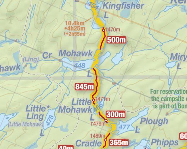 Mohawk Lake, Algonquin Park - Jeff's Map