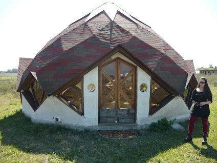 109 best Zome - Zonohedron Dome images on Pinterest Geodesic dome - maquette de maison a construire