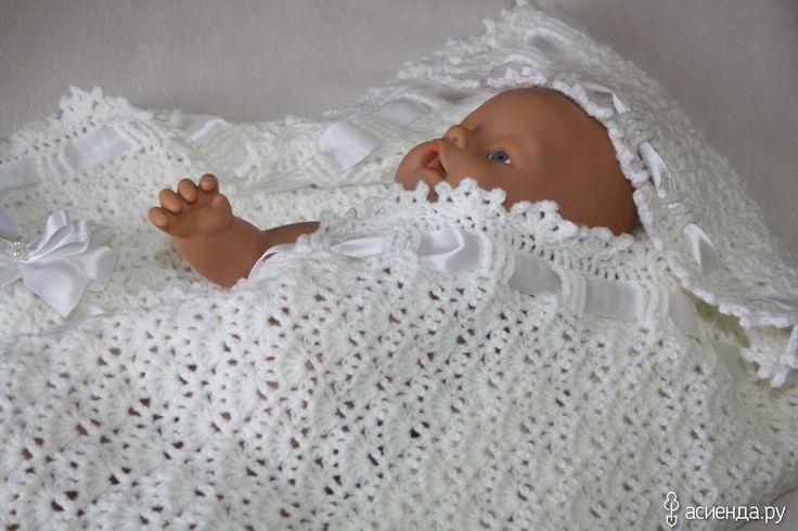 Вязаные пледы для малышей: Группа Зимой не скучно ждать лето.