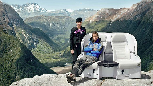 Bear Grylls et les mesures de sécurité pour Air New Zealand [video] - http://www.2tout2rien.fr/bear-grylls-mesures-securite-air-new-zealan/