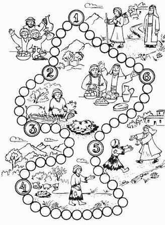 Image result for prodigal son activity sheets (With images