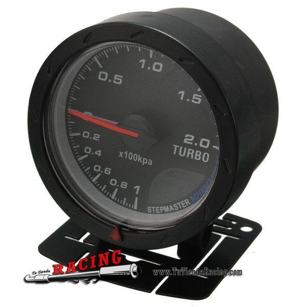 Medidor Dial de Vacío Boost Digital para Turbo Coche Tuning 60mm 2'' con Soporte Adhesivo + Tubo - 33,85€ - TUTIENDARACING - ENVÍO GRATUITO EN TODAS TUS COMPRAS