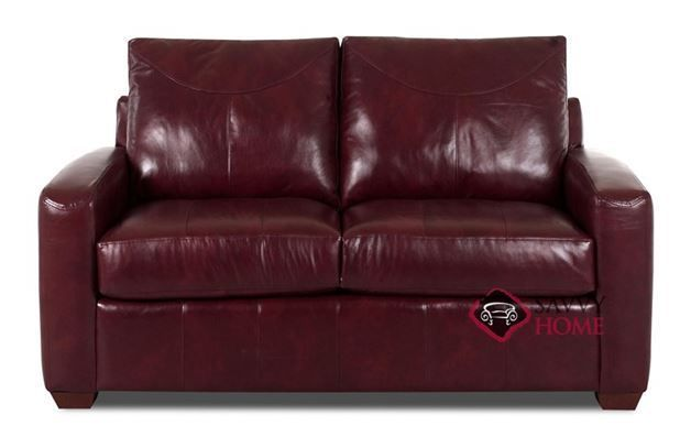 Boulder Leather Loveseat By Savvy Futonchairloveseats Futonideasporches