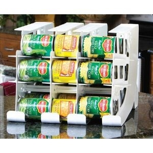 Amazing Canned Good Storage (rotate Up To 54 Cans)