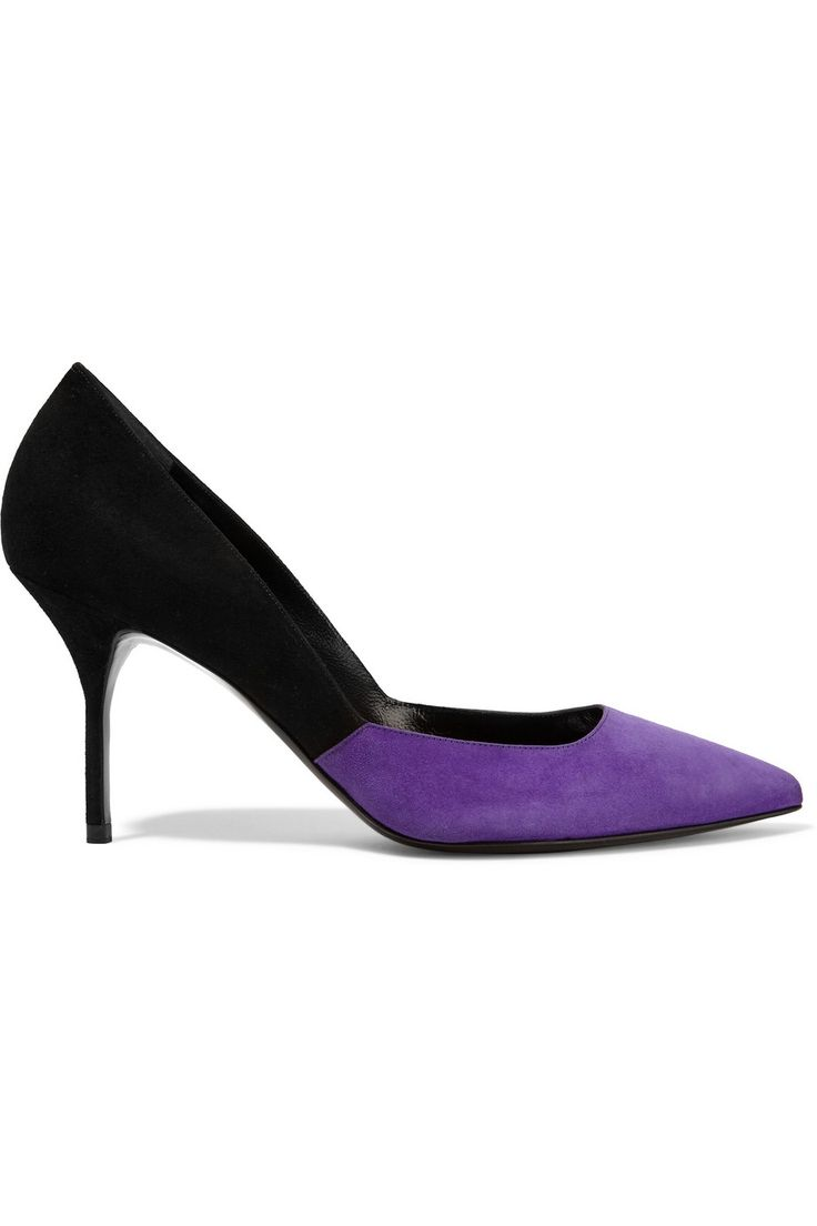 Suede Pumps, High Heel Pumps, Heels & Pumps, Shoes High Heels, Flat Shoes,  High Heeled Footwear, Purple Pumps, Purple Suede, Pumps Sale
