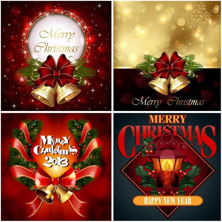 free ecard christmas party invitations%0A Elegant Christmas cards vector