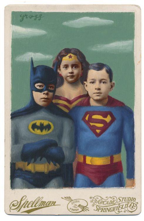 Heroes, Alex Gross (updated)
