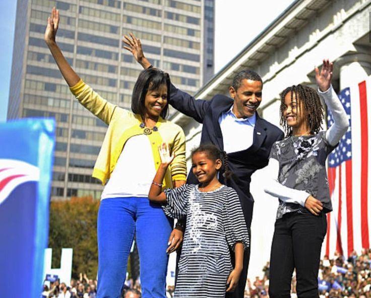 The Obamas 2008