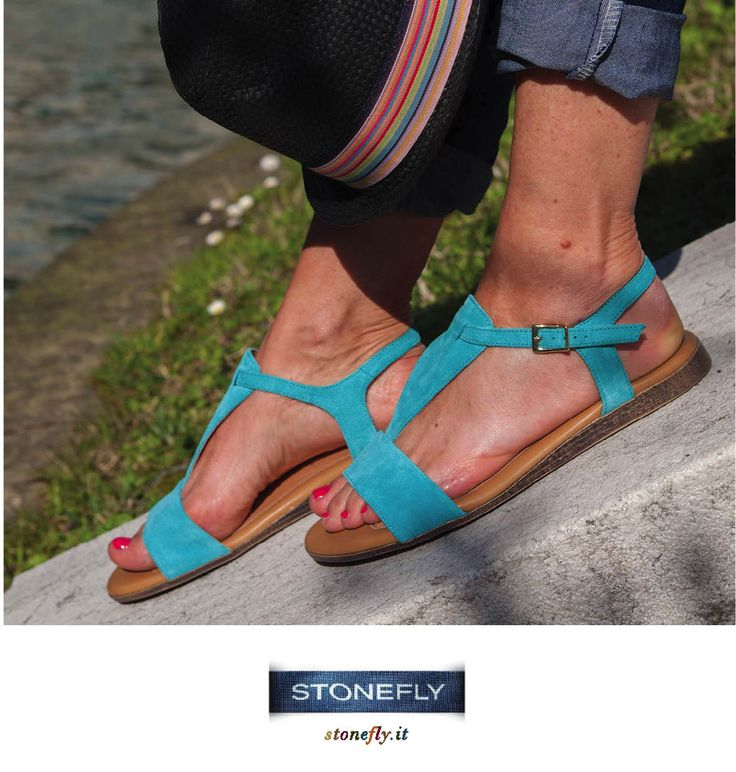 Antigua #turquoise sandals...happy and relaxed!